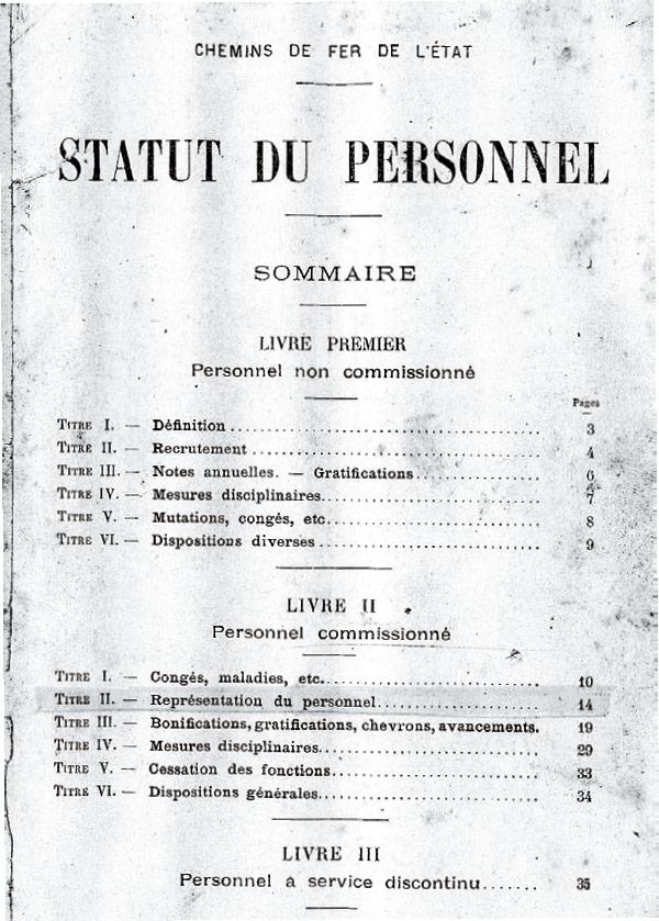 Statut de 1920