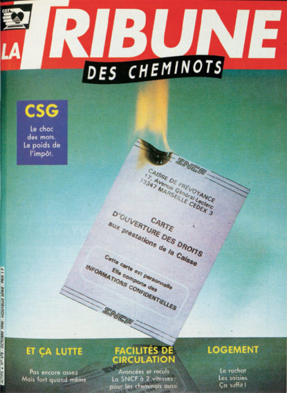 Couverture de La Tribune des Cheminots 678