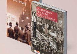 """Couvertures des livres """"Les cheminots on s'en fait toute une histoire"""""""