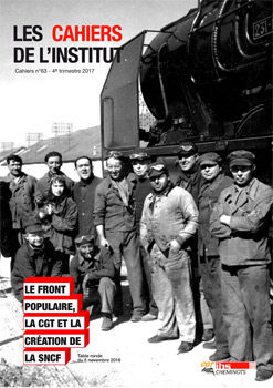 Cahiers de l'IHS n°63